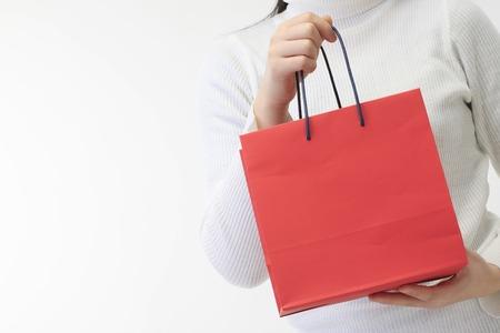 Paper bag Stockfoto