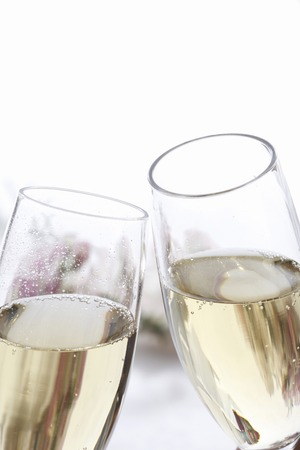 sektglas: Champagner