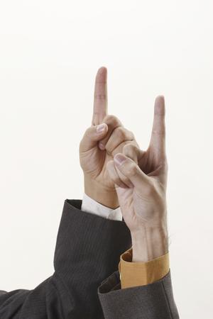 index finger: Index finger Stock Photo