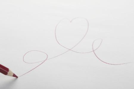 手書きの心