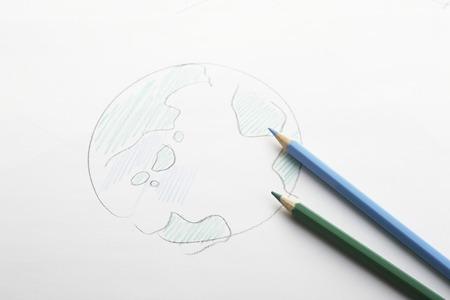 handwritten: Handwritten Earth