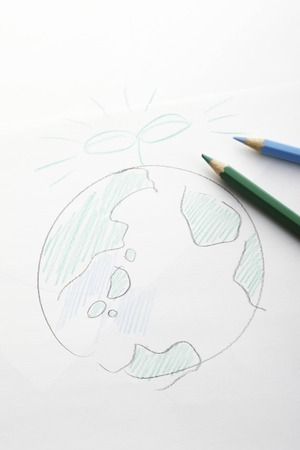 germination: Handwriting of the earth and Futaba