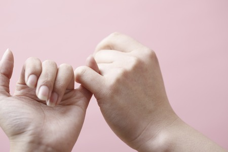 Pinky promise Imagens