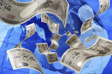 ビジネスとお金のイメージ 写真素材