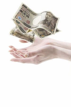 enriched: Hand and money