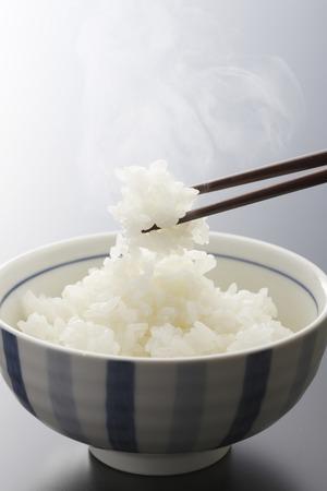 Rice and chopsticks Zdjęcie Seryjne
