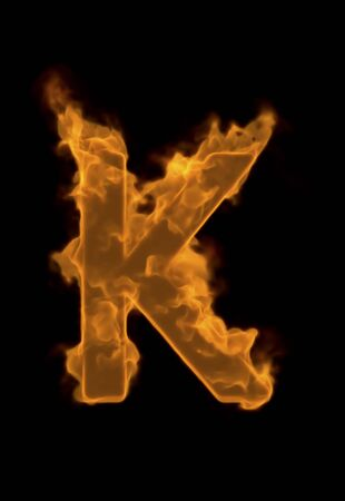 flame: Alphabet K of flame