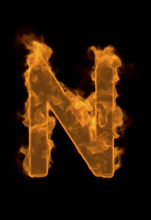 firepower: Alphabet N of flame