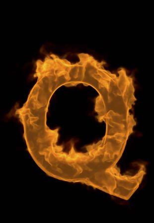 firepower: Alphabet Q of flame