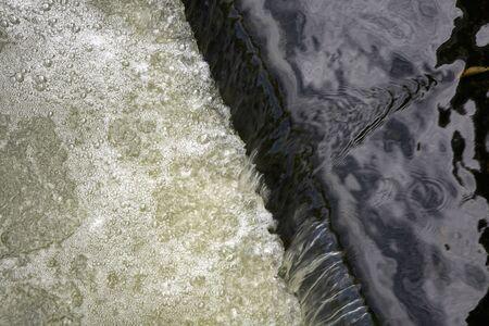 water contamination: Sewage