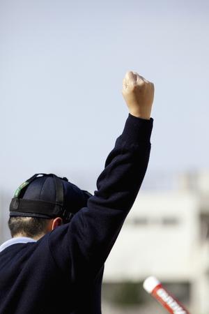 arbitro: convocatoria de huelga de árbitro de béisbol