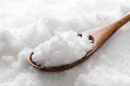 Granulated white sugar Фото со стока