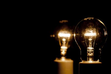 filament: Light bulb and the filament