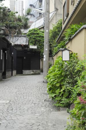 back alley: Kagurazaka of back alley