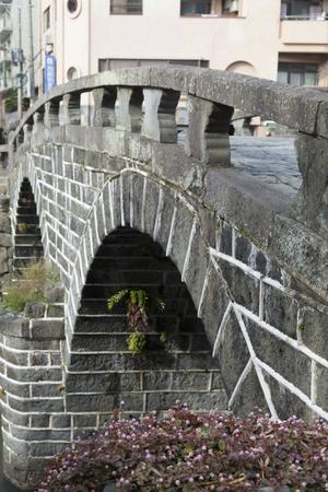 nagasaki: Megane bridge Nagasaki