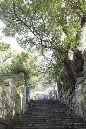 nusa: Stone steps Nusa Fusaka