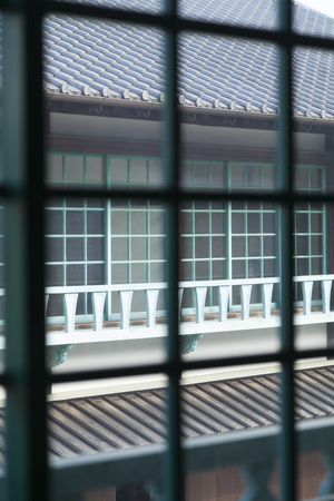 lattice window: Lattice window of Dejima