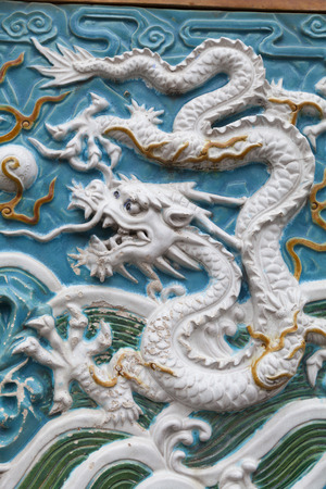 enclave: Dragon of ceramic plate