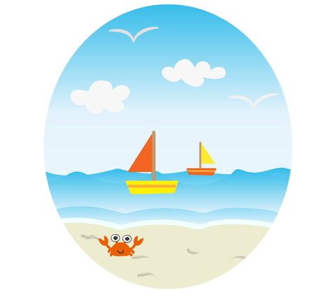 fine weather: Sandy beaches and boat