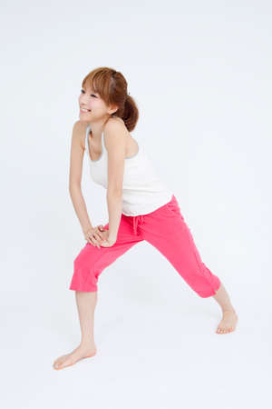 pliable: Woman and exercise