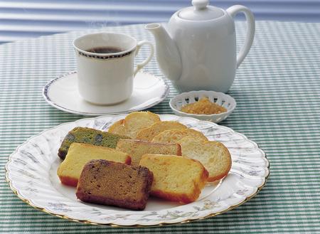 Rusk and pound cake Reklamní fotografie