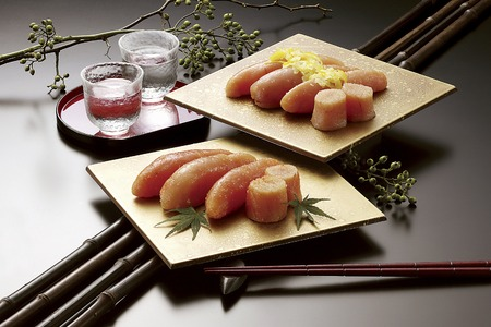 Roe and citron Mentaiko