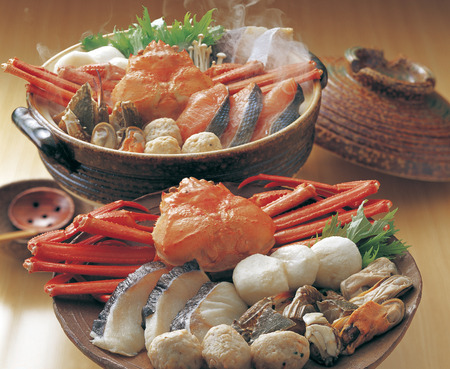 crab pot: Snow crab seafood pot