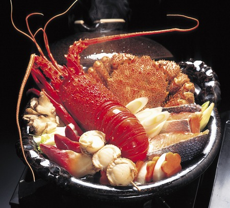 crab pots: The seafood pot to the Ise shrimp-hair