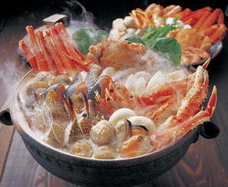 蟹たっぷり海鮮鍋
