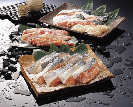 king salmon: Oversized-lees pickled