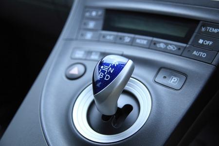 shift: shift lever Stock Photo