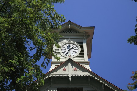 clock tower: Sapporo clock tower