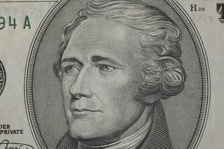 alexander hamilton: 10 banconote.