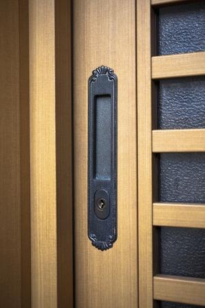 sliding door: Sliding door Stock Photo