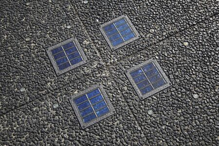 power generation: Solar power generation Light