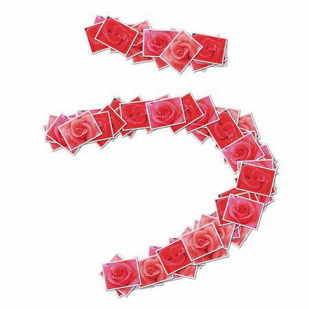 pseudonym: Rose flower in hiragana character.