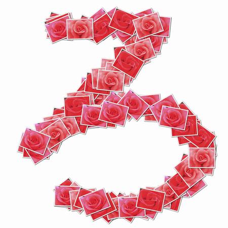 filtration: Flor de Rose en el car�cter hiragana.