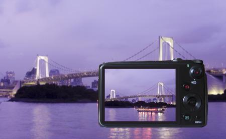Monitor LCD de la cámara digital