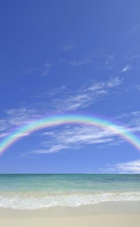 sandy beaches: Sandy beaches and Rainbow