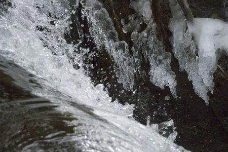水しぶき 写真素材