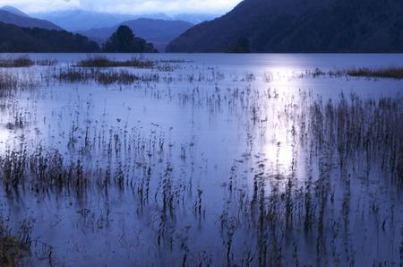early morning: Of early morning Lake Akimoto