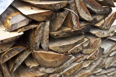 raw materials: Raw materials of disposable chopsticks Stock Photo