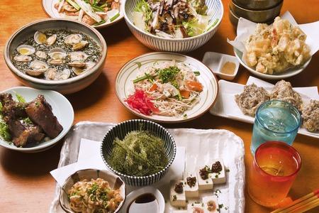 Okinawa cuisine Фото со стока