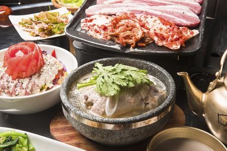 alcoholic drink: Korea cuisine course