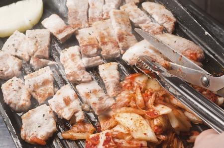Roast meat photo