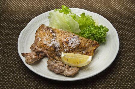 rock salt: Rock salt grilled chicken Stock Photo