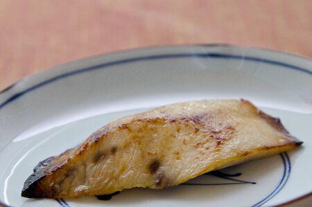 pez espada: falda filete de pez espada de miso
