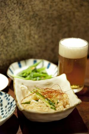 ryukyu: Mimiga Okinawa cuisine Stock Photo