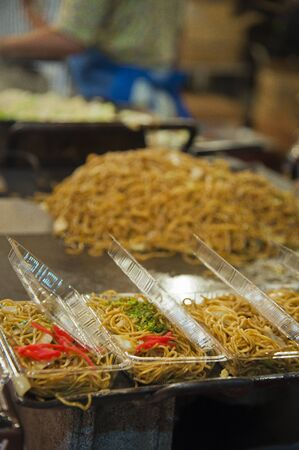 vapour: Chow mein stalls