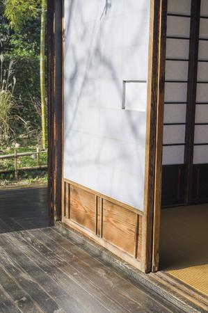 verandah: Shoji and veranda